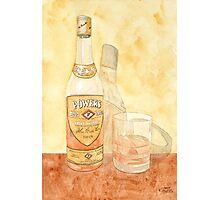 Powers Irish Whiskey Photographic Print