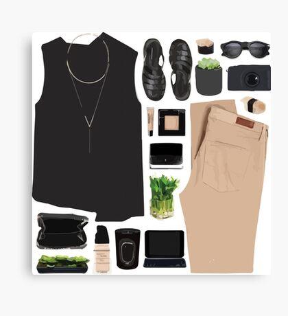 Fashion Collage Canvas Print
