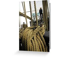 Sailor on Duty Greeting Card