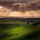 The Lightshow - Red Rock Colac by Hans Kawitzki