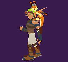 Jak and Daxter by spyrome876