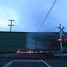 Speeding Train Becomes Transparent by Buckwhite