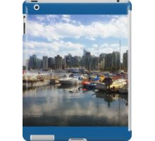 Vancouver Skyline from Stanley Park iPad Case/Skin