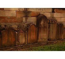 grave yard Photographic Print