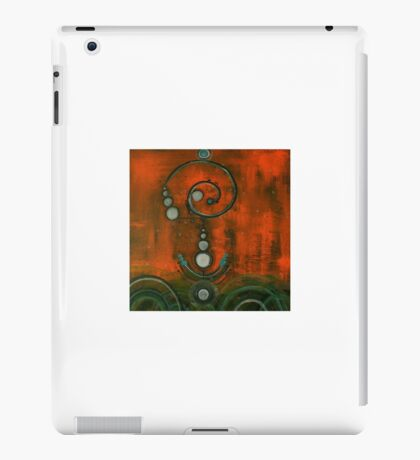 Crop circle iPad Case/Skin