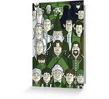 The Green Fellowship Greeting Card