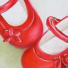 Gaby's Red Shoes by Jane Whittred