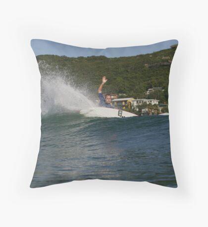 DREW COURTNEY Throw Pillow