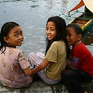 Wharf Kids - Ternate by picketty