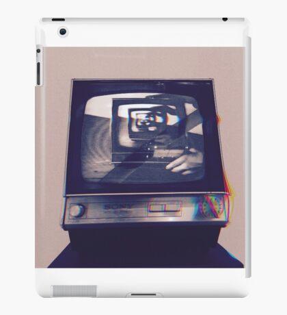 TV HEAD VINTAGE iPad Case/Skin