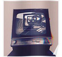 TV HEAD VINTAGE Poster