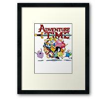 Adventure Time World Framed Print