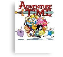 Adventure Time World Canvas Print