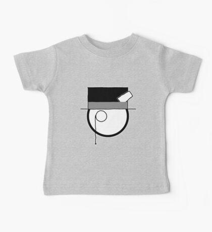 Cartoon Face 4 - Monocled Toff [Big] Baby Tee