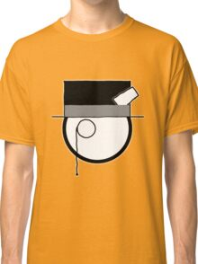 Cartoon Face 4 - Monocled Toff [Big] Classic T-Shirt