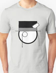 Cartoon Face 4 - Monocled Toff [Big] T-Shirt