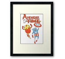 Adventure Time Avenger Framed Print