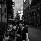 "City Life - ""Noisy Street"" by Denis Molodkin"