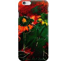 Orange Flowers and Regret.. iPhone Case/Skin