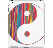 Colorful Drip Yin Yang iPad Case/Skin