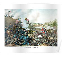Battle Of Franklin -- Civil War Poster