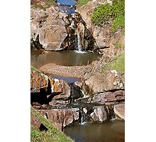 Waterfall, Hallett Cove Conservation Park. Photographic Print