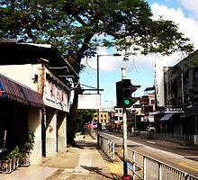 An old Hong Kong Street by exaltedshrimp
