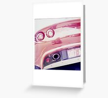 Doble 0 7 Greeting Card
