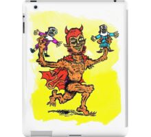 The Devil Plays with Dolls iPad Case/Skin