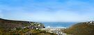 Porthtowan Panoramic View: Cornwall UK by DonDavisUK