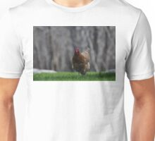 She is running Unisex T-Shirt