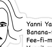 Yanni! Sticker
