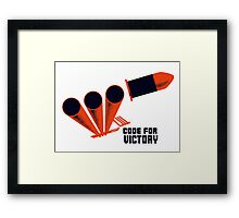 Code For Victory -- WWII Framed Print