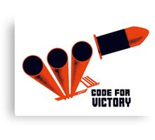 Code For Victory -- WWII Canvas Print