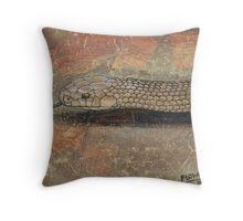 The Eastern Brown Snake Throw Pillow