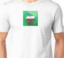 Blue bird cupcake Unisex T-Shirt