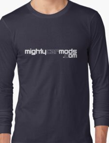 Mighty Car Mods - Simple Logo (for dark shirts) Long Sleeve T-Shirt