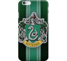 Slytherin Ribbon ver. 1 iPhone Case/Skin