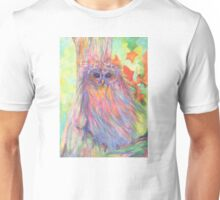 Colourful Owl in a tree Unisex T-Shirt