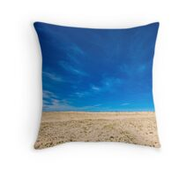 the sunny side of the moon Throw Pillow