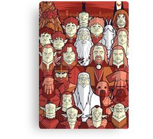 The Red Towers Canvas Print