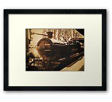 The Golden Age of Steam Framed Print