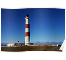 Tarbat Ness Lighthouse Entrance Poster