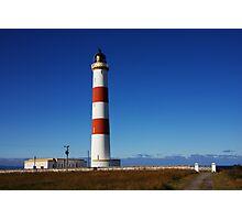 Tarbat Ness Lighthouse Entrance Photographic Print