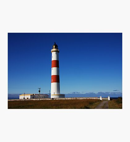 Tarbat Ness Lighthouse Entrance Photographic Print