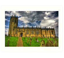 St Michael's Church - Coxwold,North Yorkshire Art Print
