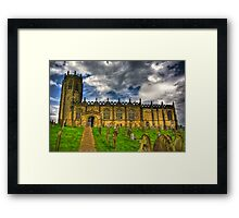 St Michael's Church - Coxwold,North Yorkshire Framed Print