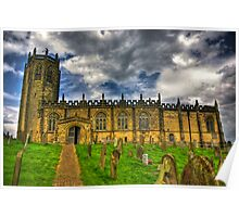 St Michael's Church - Coxwold,North Yorkshire Poster