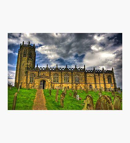 St Michael's Church - Coxwold,North Yorkshire Photographic Print