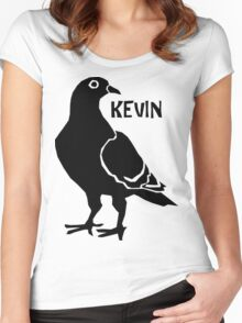 Kevin the Pigeon Women's Fitted Scoop T-Shirt
